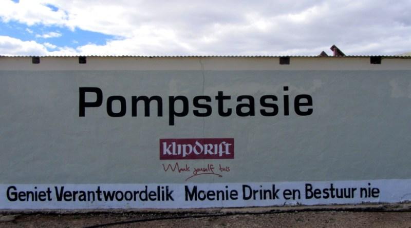 Klipdrift signage at Ronnie's Sex Shop