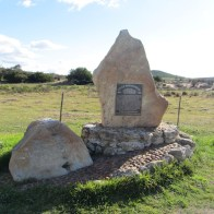 Monument to the Southernmost conflict of the Anglo-Boer War