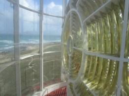 Cape l'Agulhas lighthouse lens