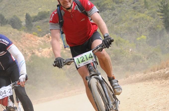 Climbing, Karoo to Coast MTB Challenge 2012