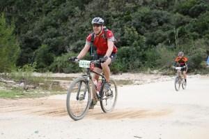 Drift at De Vlugt, Karoo to Coast MTB Challenge 2012