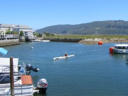 Finish of X Lakes Summer 2012 at Thesen Island, Knysna