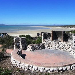 Preekstoel braai facilities, West Coast National Park