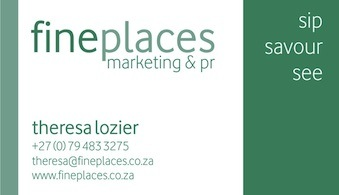 FinePlaces business card