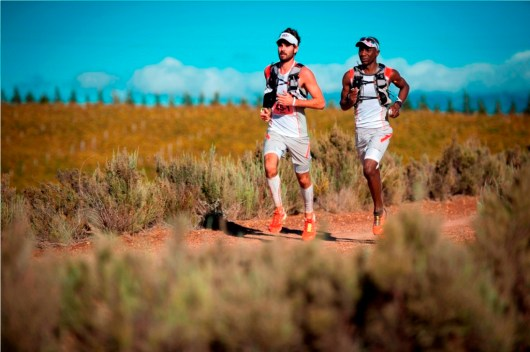 Kane Reilly & Nicholas Rupanga (Team Salomon) took gold after Stage One Photo Credit ~ Cherie Vale / NEWSPORT MEDIA