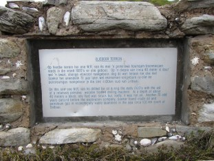 Oil exploration plaque, Stilbaai