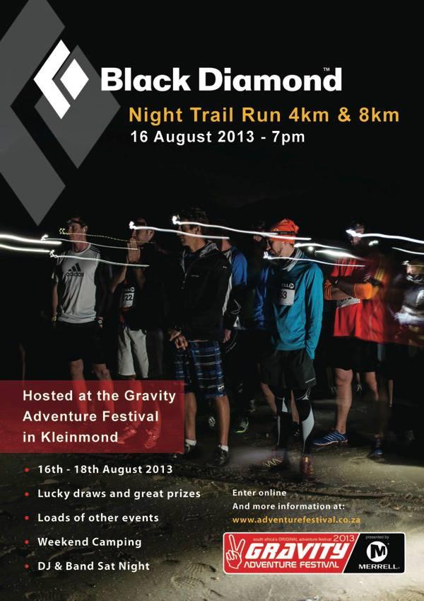 Black Diamond Night Trail Run 2013