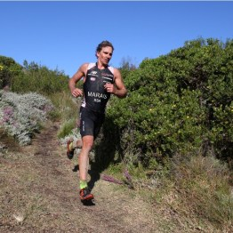 Stuart Marais during the 2012 Totalsports XTERRA PEZULA presented by REHIDRAT® SPORT. Photo Credit ~ www.oakpics.com