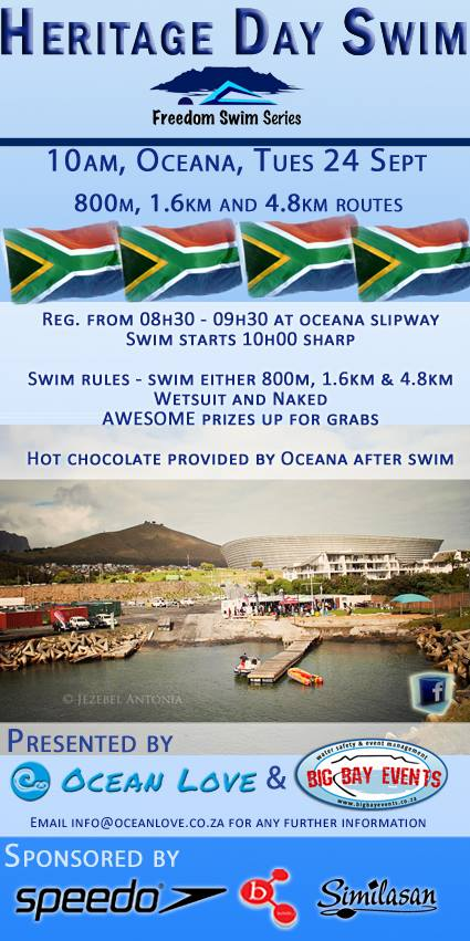 Heritage Day Swim 2013