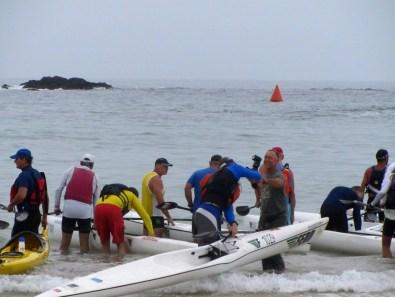 Jacques Marais at Sabrina Love Ocean Paddle