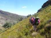 Descent from Groot Kliphuis to Kliphuis River, Groot Winterhoek
