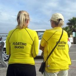 The Floating Ducks at the Langebaan Lagoon Crossing 2014