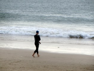 Friday morning swim, IronMan South Africa 2014