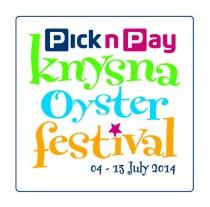 Knysna Oyster Festival 2014 logo