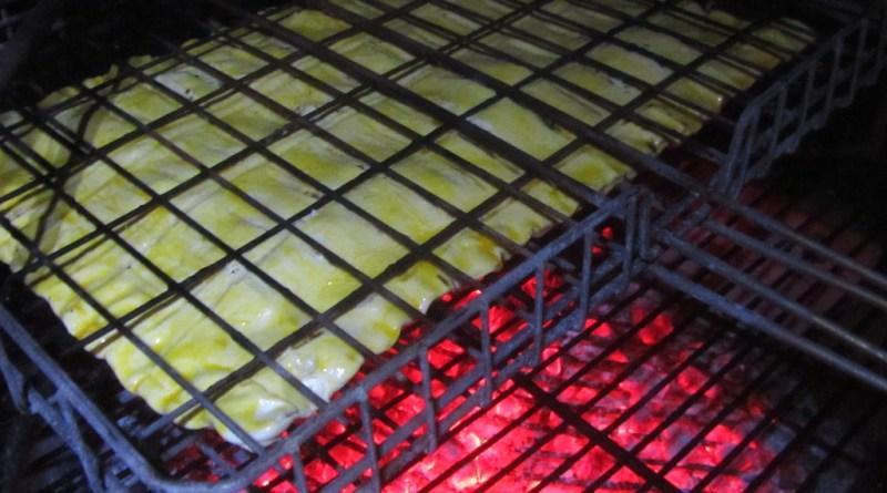 Braai-Pie on the coals
