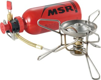 MSR WhisperLite stove