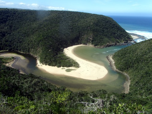 Salt River mouth from viewpoint
