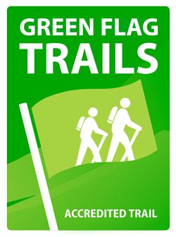 Green Flag accredited trail logo