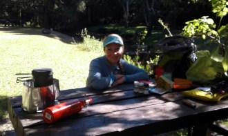 Lunch at Jubilee Creek