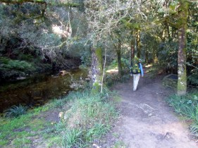 Jubilee Creek Mining Walk start