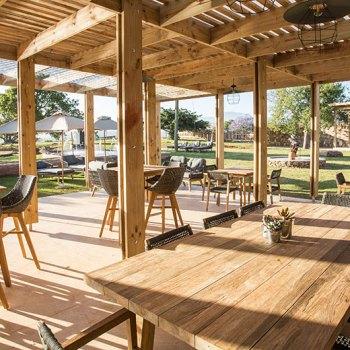 Botlierskop Village Lodge Patio