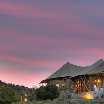 Dwyka Tented Lodge Exterior
