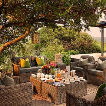 Ecca Lodge Outdoor Seating
