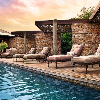 Ecca Lodge Pool Area