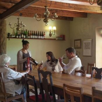 Grootbos Villa Dinner Area