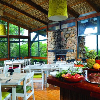 Kariega Main Lodge Indoor Dining Area