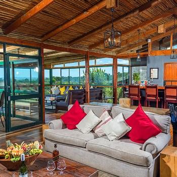 Kariega Main Lodge Lounge and Bar