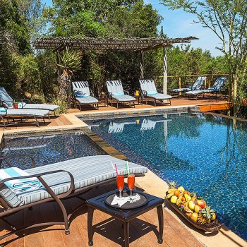 Kariega Main Lodge Sparkling Pool