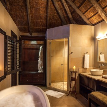 Kichaka Luxury Game Lodge Bathroom View