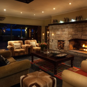 Kichaka Luxury Game Lodge Lounge Area