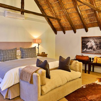Lobengula Lodge Room Interior