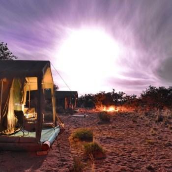 Sanbona Explorer Camp Sunrise