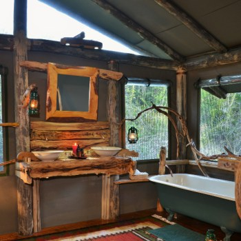 Sibuya Forest Camp Bathroom