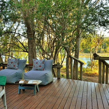 Sibuya River Lodge Outdoor Seating