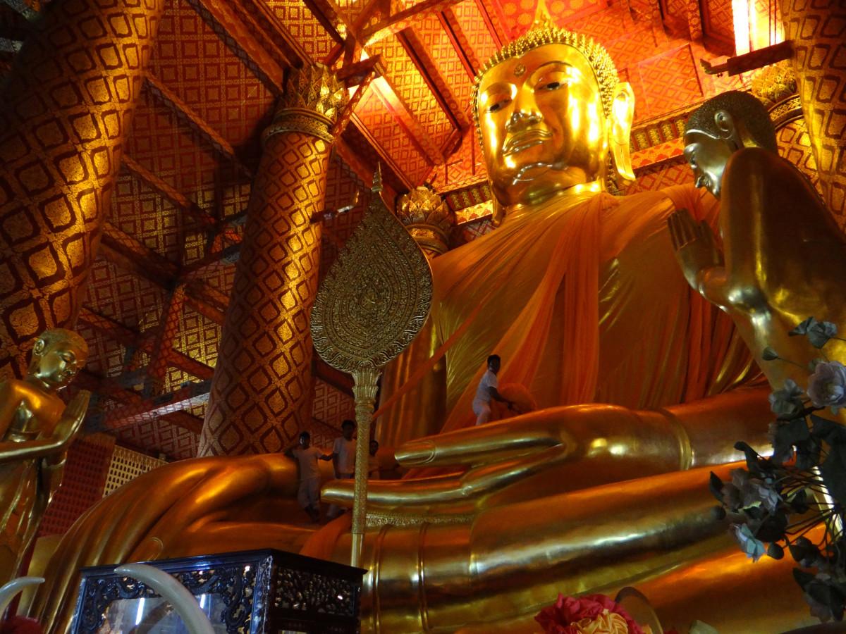 Wihan Phra Mongkhon Bophit Ayutthaya // Thailand