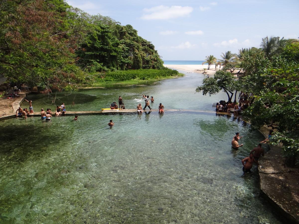 Pedernales natural pool // Dominican Republic
