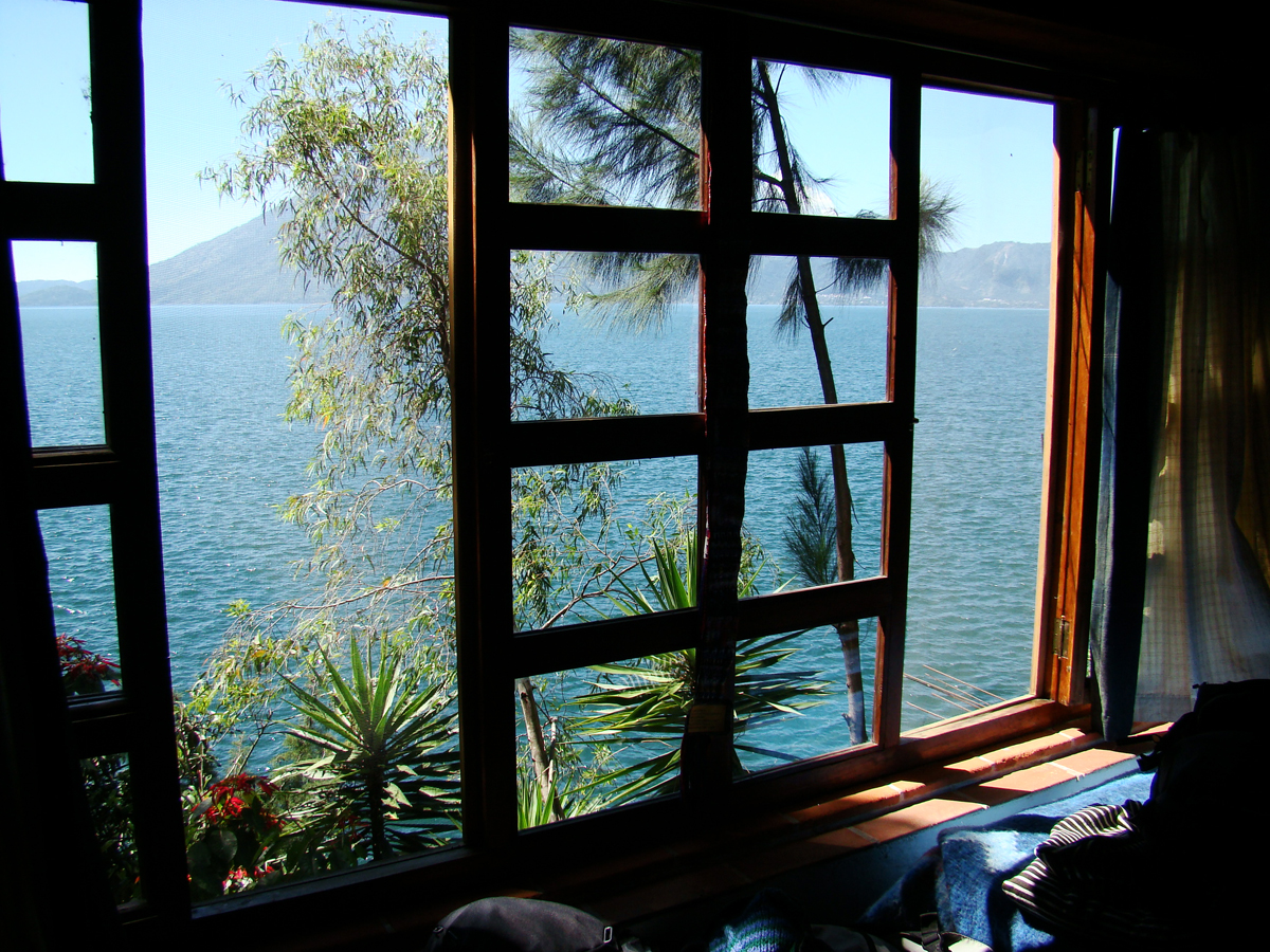 A room with a view over Lago de Atitlan // Guatemala