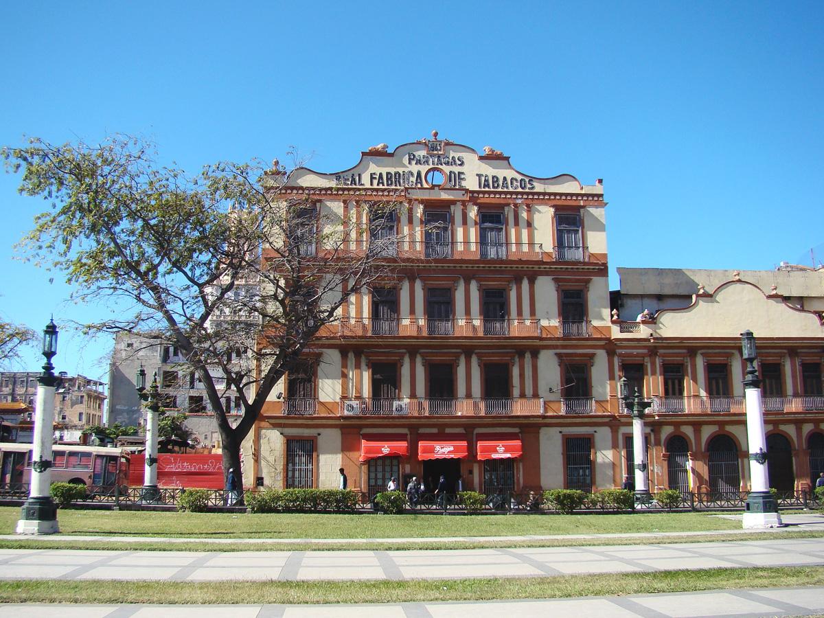 Partagas cigar factory Havana // Cuba
