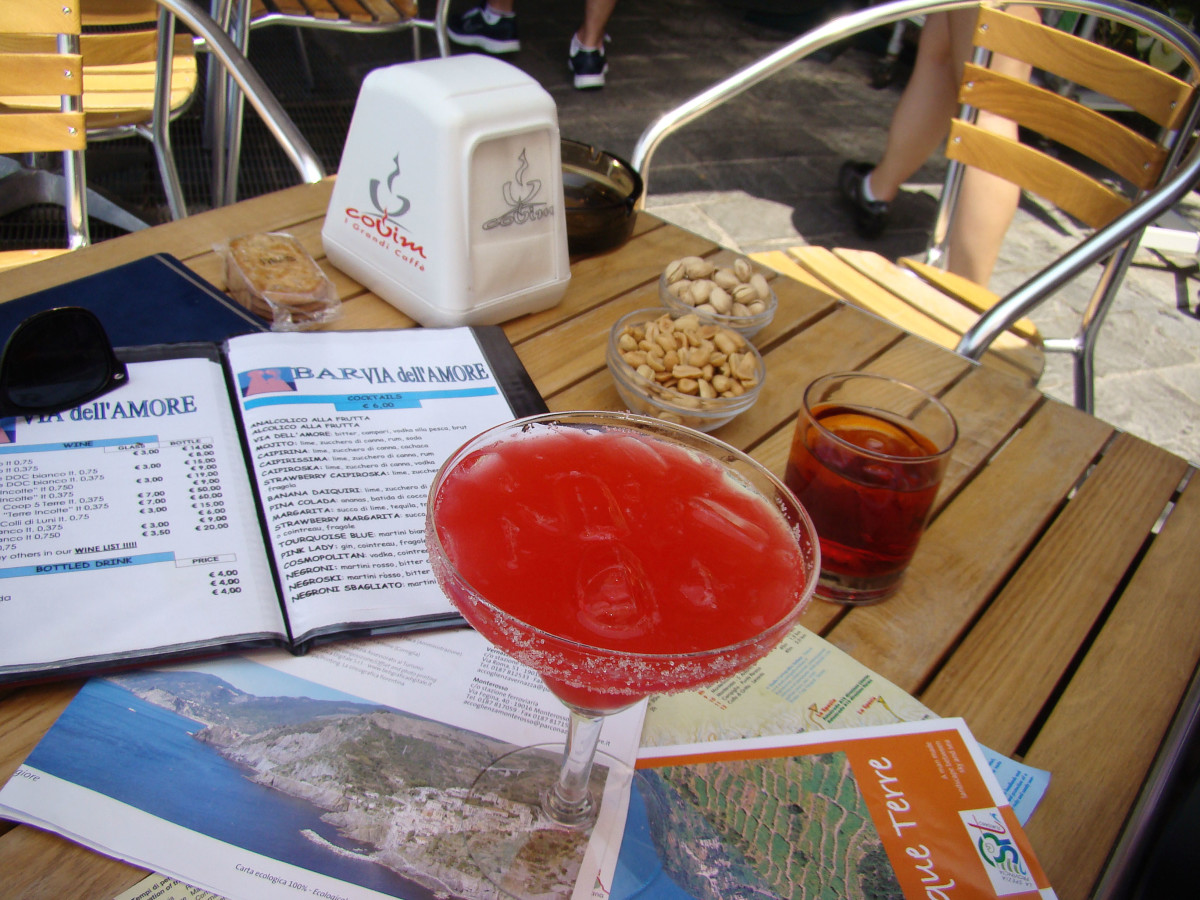 Cocktail Via dell' Amore Cinque Terre // Italy
