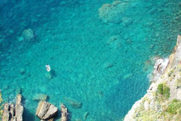 Blue sea // Italy