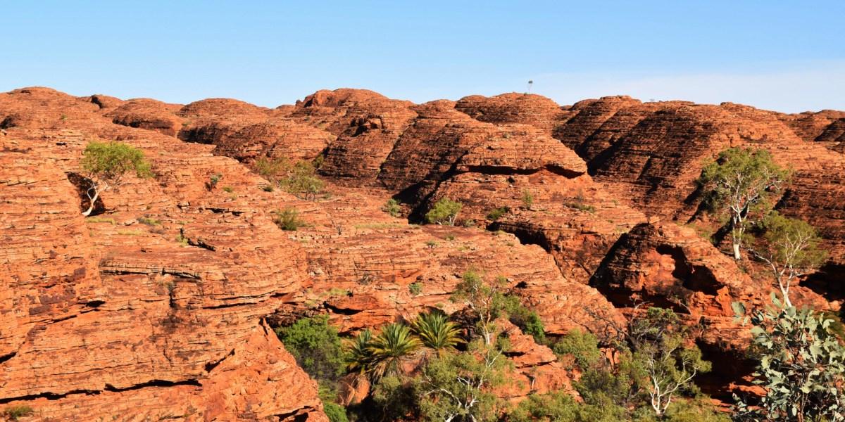 Australia Kings Canyon Rim Walk