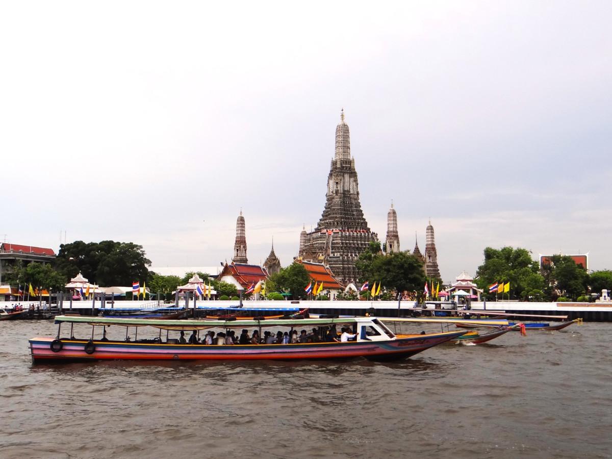 Thailand Bangkok Wat Arun Temple