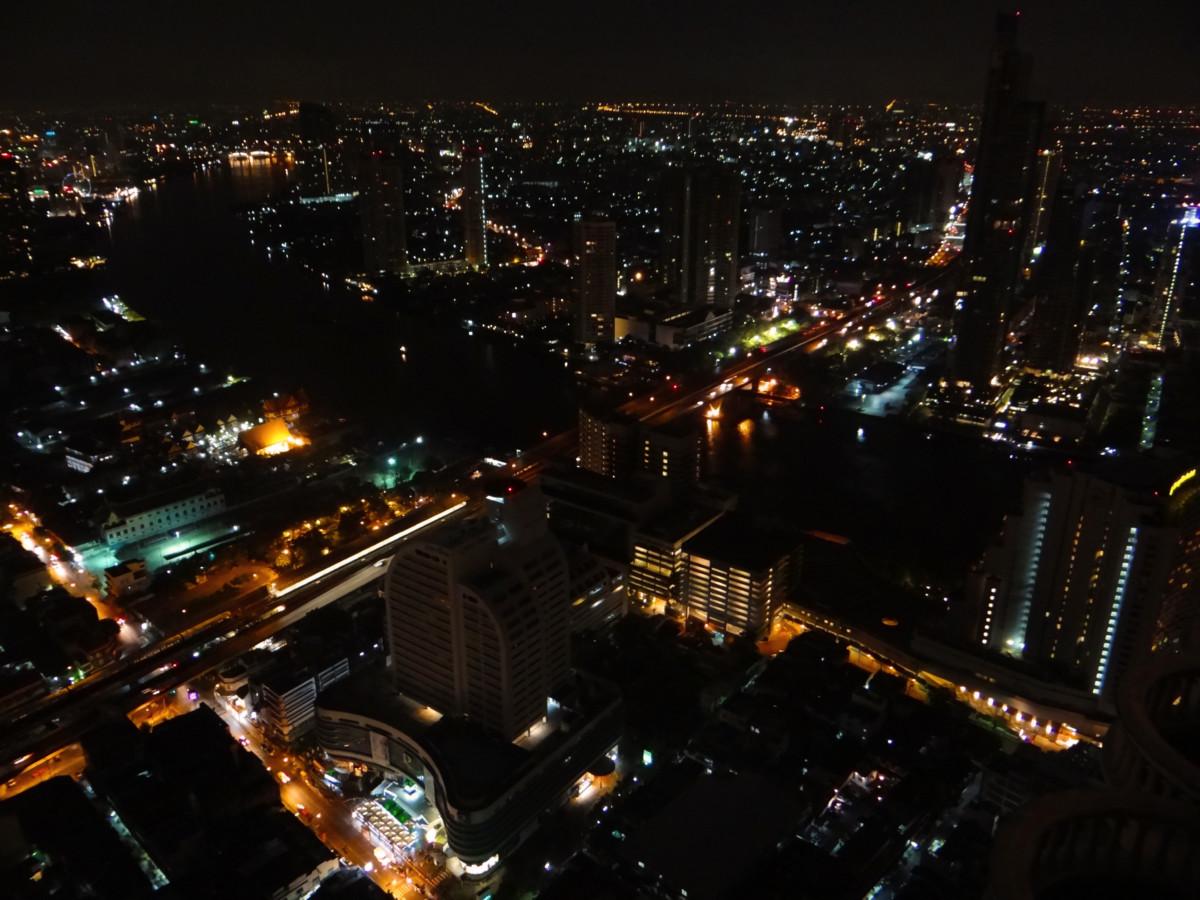 Thailand Bangkok Rooftop Sky Bar Lebua