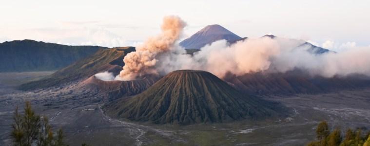 Indonesia Gunung Bromo Volcano Sunrise