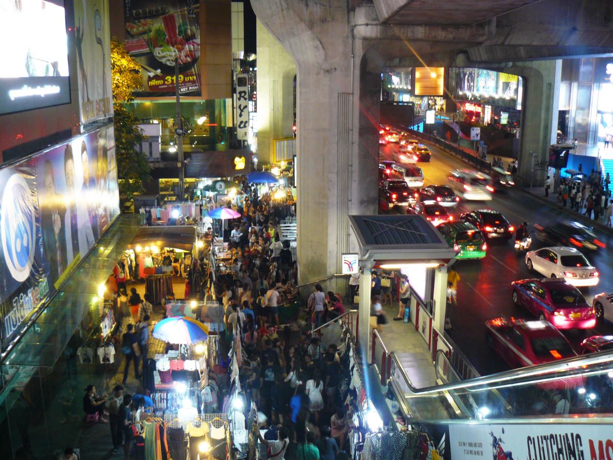 Thailand Bangkok Street