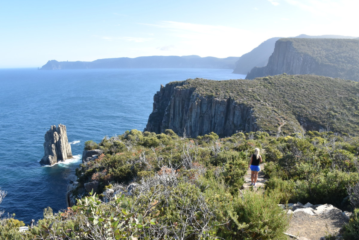 Australia Tasmania Cape Hauy Trail